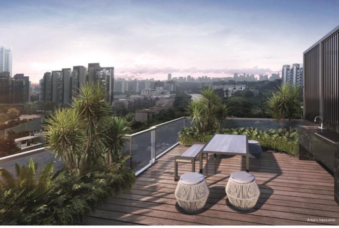 Mooi Residences - Sky Terrace
